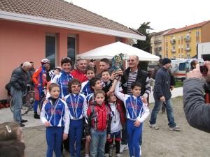 Alla fine della Gimkana organizzata dal team bettolino Freddo