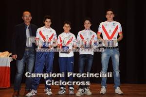 I quattro Campioni Provinciali di Ciclocross