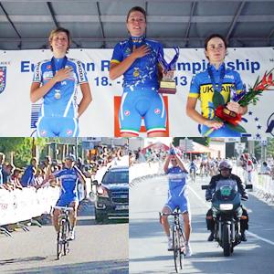 La neo Campionessa Europea U23, Susanna Zorzi