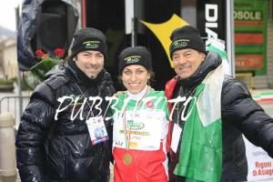 La Campionessa Italiana di Ciclocross U23 Alice Arzuffi