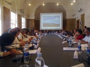 In foto: La tavola rotonda col Ministro Massimo Bray per supportare il progetto VEnTO.